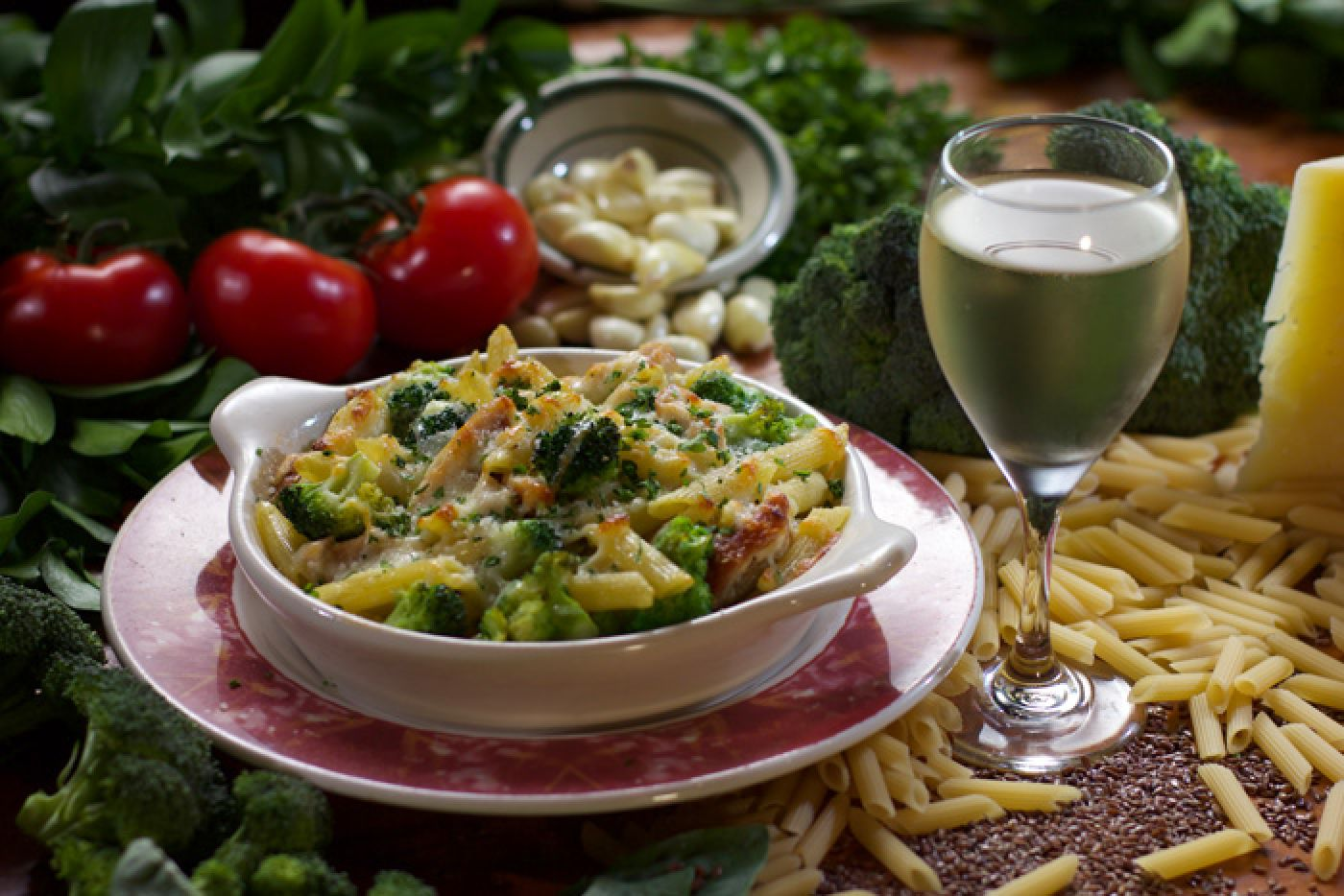 Polcari's Chicken Brocoli Ziti